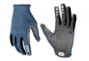 paire de gants poc 2017 resistance enduro bleu gris