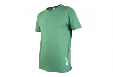 maillot manches courtes poc 2017 resistance enduro light vert