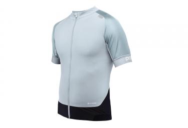 maillot manches courtes poc 2017 resistance pro xc zip bleu