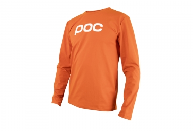 maillot manches longues poc 2017 resistance enduro orange