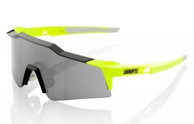 lunettes 100 speedcraft sl jaune ecran fume