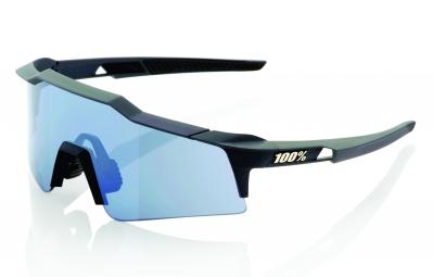 lunettes 100 speedcraft sl noir ecran bleu