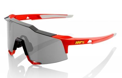 lunettes 100 speedcraft ll rouge ecran fume