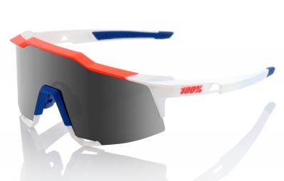 lunettes 100 speedcraft ll bleu blanc rouge ecran fume