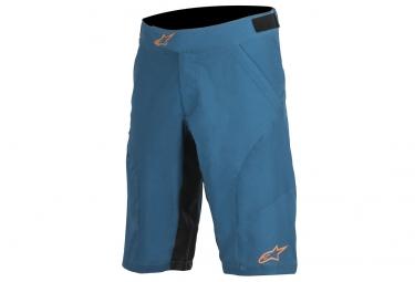 short alpinestars hyperlight 2 bleu orange