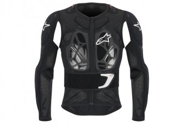 veste de protection alpinestars bionic 2017 manches longues noir blanc