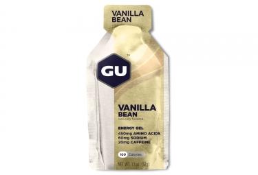 gu gel energetique energy gousse de vanille 32g