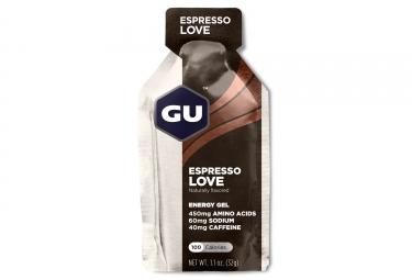 gu gel energetique energy espresso 32g