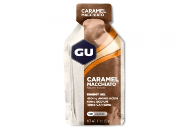 gu gel energetique energy cafe caramel 32g