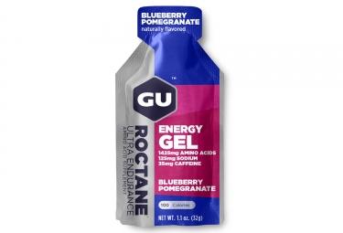 gu gel energetique roctane myrtille grenade 32g