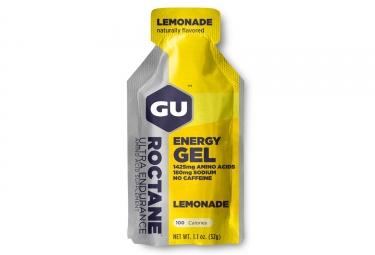 gu gel energetique roctane limonade 32g