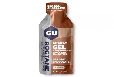 gu gel energetique roctane chocolat fleur de sel 32g