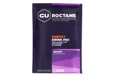 gu boisson energetique roctane raisins 65g