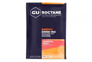 gu boisson energetique roctane fruits tropicaux 65g