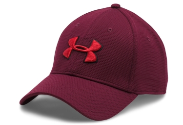 casquette de sport under armour blitzing ii rouge