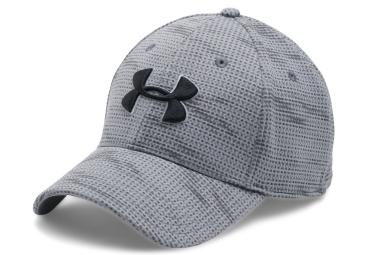 casquette de sport under armour printed blitzing gris