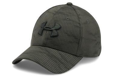 casquette de sport under armour printed blitzing vert khaki