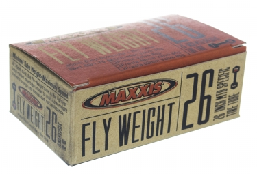 maxxis chambre a air flyweight 26 x 1 50 1 75 valve schrader