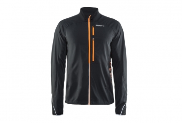 veste coupe vent craft breakaway noir orange