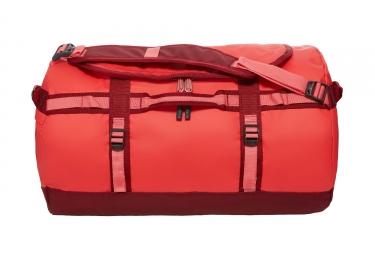 sac de sport the north face duffel base camp orange rouge