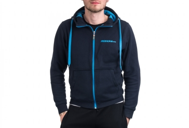 sweat a capuche alltricks staff bleu
