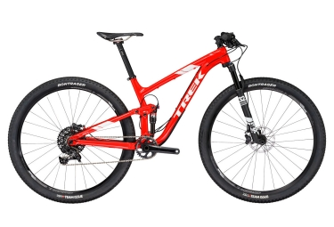 vtt tout suspendu trek 2017 top fuel 9 sram x1 11v rouge