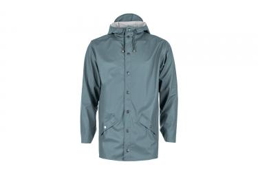 veste impermeable rains jacket bleu