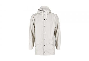 veste impermeable rains jacket gris