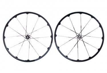 paire de roues crankbrothers 2017 cobalt 2 29 boost 15x110mm 12x148mm noir gris
