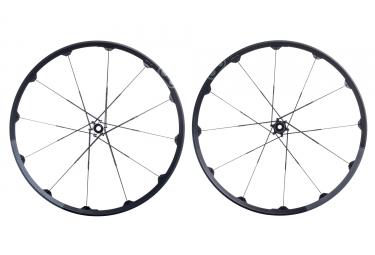 paire de roues crankbrothers 2017 cobalt 2 27 5 boost 15x110mm 12x148mm noir gris