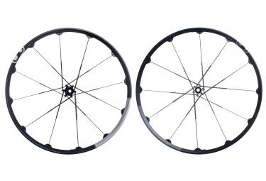 paire de roues crankbrothers 2017 iodine 3 27 5 15mm 12x142mm noir argent