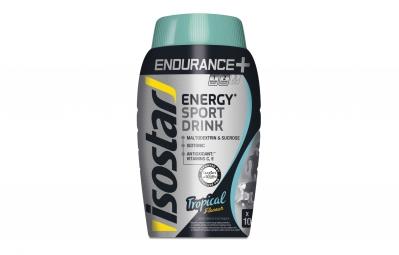 boisson energetique isostar longue distance tropical 790g