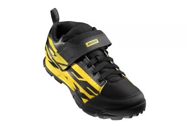 paire de chaussures mavic 2017 deemax pro noir jaune
