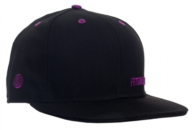 casquette fit bike co insignia 7 1 2 noir violet
