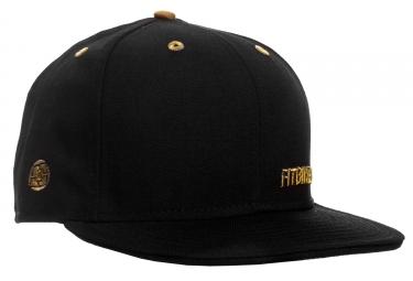 casquette fit insignia 7 3 4 noir or
