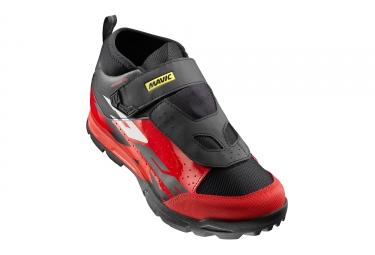 paire de chaussures mavic 2017 deemax elite noir rouge