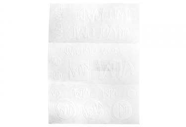 sticker pack volume blanc
