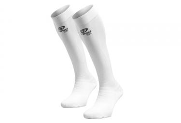 paire de chaussettes bv sport prorecup elite evo blanc