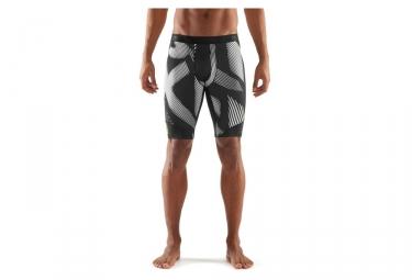 cuissard de compression skins dnamic noir blanc