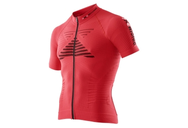 maillot manches courtes x bionic effektor rouge