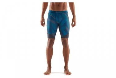 cuissard de compression skins dnamic bleu noir