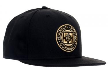 casquette fit emblem 7 1 2 noir
