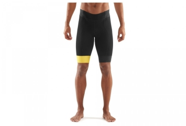 cuissard skins cycle noir jaune