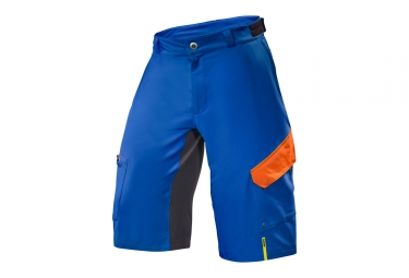short vtt mavic 2017 crossmax pro bleu orange sous short non inclu