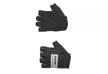 gants courts northwave flag noir 2017