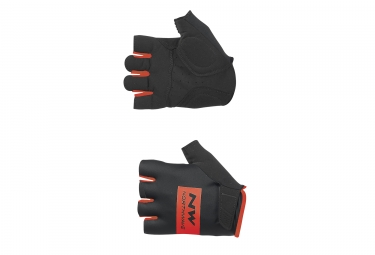gants courts northwave flag noir rouge 2017