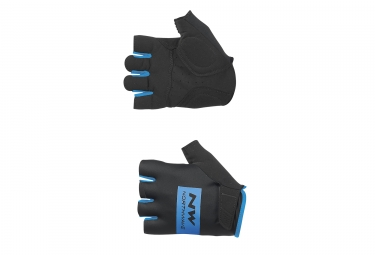 gants courts northwave flag noir bleu 2017