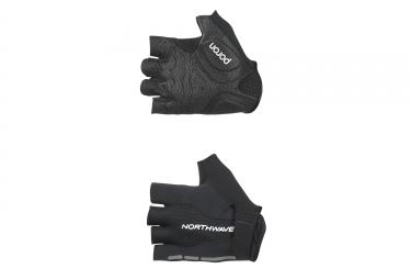 gants courts northwave flash noir 2017