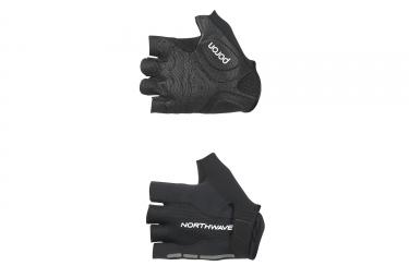 gants courts northwave flash noir 2017