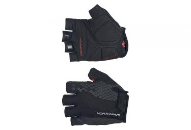gants courts northwave evolution noir 2017